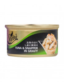 SHEBA TUNA AND SNAPPER 85G