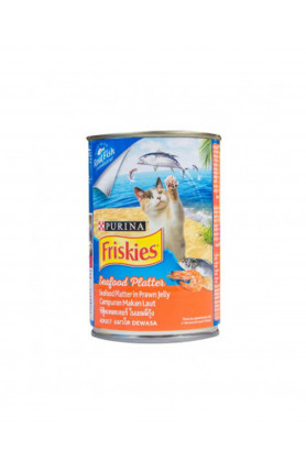 FRISKIES SEAFOOD PLATTER CAN 400G