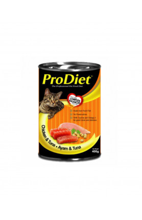 PRODIET CHICKEN & TUNA 400G