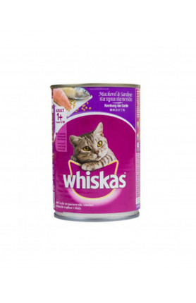WHISKAS WHOLE MACKEREL CAN 400G