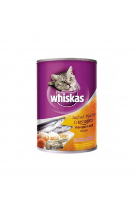 WHISKAS SEAFOOD PLATTER CAN 400G