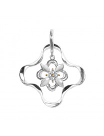 KALEIDO MINI FLOWER DIAMOND PENDANT