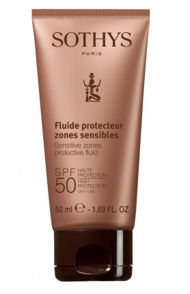 SENSITIVE ZONE PROTECTIVE FLUID SPF50 - 50ML