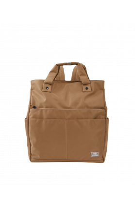 SHIFT Ⅱ WATER REPELLENT 3WAY TOTE TYPE BACKPACK - BEIGE..