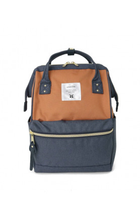 CROSS BOTTLE BASE BACKPACK MINI - TERRACOTTA/ NAVY