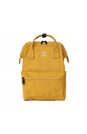 TRACK CLASP BACKPACK SMALL - MUSTARD