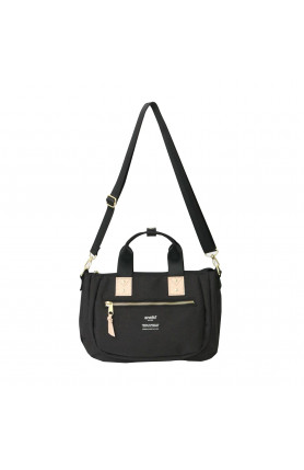 ATELIER SERIES 2WAY MINI TOTE BAG - BLACK