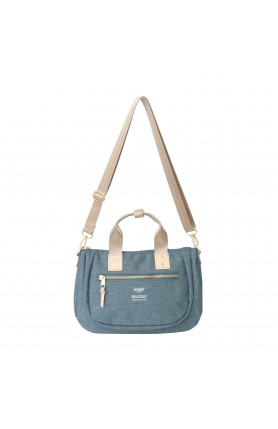 ATELIER SERIES 2WAY MINI TOTE BAG - DENIM BLUE
