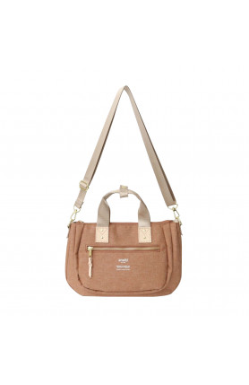 ATELIER SERIES 2WAY MINI TOTE BAG - PINK BEIGE