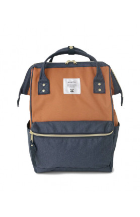 CROSS BOTTLE BASE BACKPACK REGULAR - TERRACOTTA/NAVY