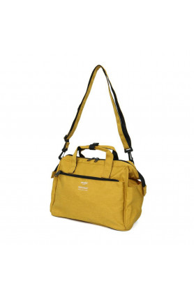 TRACK 2WAY 10 POCKET MINI BOSTON BAG - MUSTARD