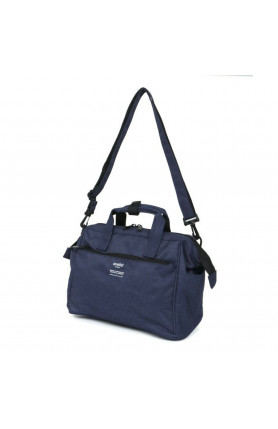 TRACK 2WAY 10 POCKET MINI BOSTON BAG - NAVY