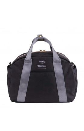 CASUAL STYLE 2WAY SHOULDER/ HAND CARRY BAG - BLACK