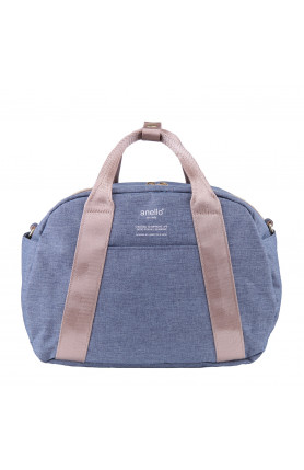 CASUAL STYLE 2WAY SHOULDER/ HAND CARRY BAG - DENIM BLUE