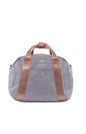 CASUAL STYLE 2WAY SHOULDER/ HAND CARRY BAG - GREY