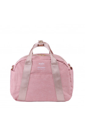 CASUAL STYLE 2WAY SHOULDER/ HAND CARRY BAG - NATURAL PI..