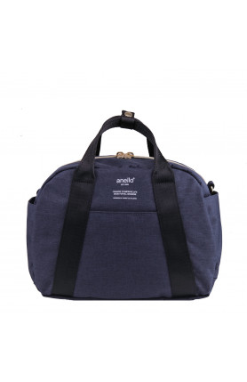 CASUAL STYLE 2WAY SHOULDER/ HAND CARRY BAG - NAVY