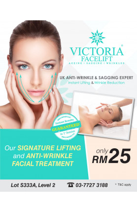 LIFTING AND ANTI-WRINKLE FACIAL TREATMENT