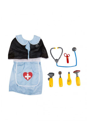 KIDS COSTUME - DOCTOR SET