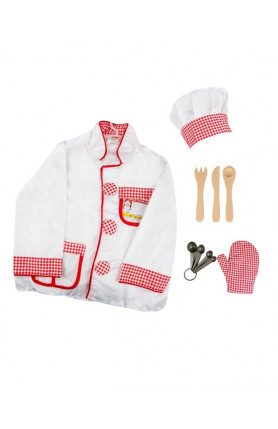 KIDS COSTUME - CHEF SET