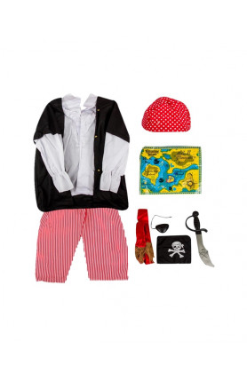 KIDS COSTUME - PIRATE SET