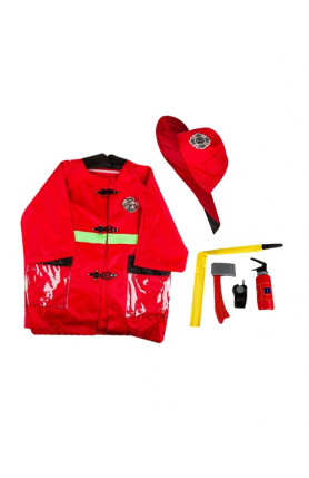 KIDS COSTUME - FIREMAN SET M387