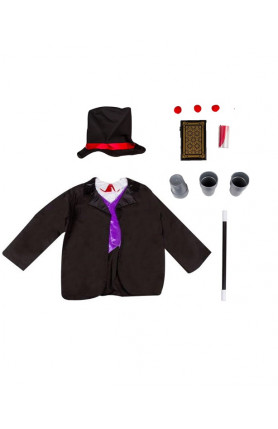 KIDS COSTUME - MAGICIAN COAT SET