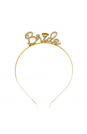 BRIDE TO BE METAL HEADBAND