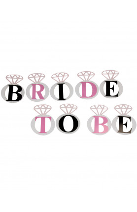 BRIDE -TO - BE BANNER