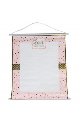 SIGN IN SHEET SCROLL SPARKLING WEDDING