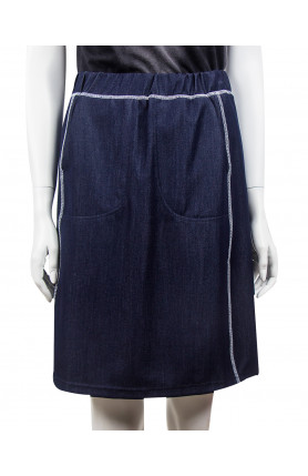 SKIRT 4928 / DARK BLUE