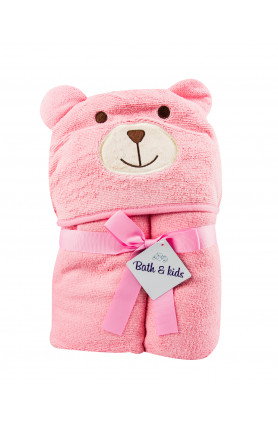 ANIMAL HOODED BATH TOWEL (MORE OPTIONS AVAILABLE)
