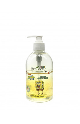 BEAUDEX KIDS SPONGEBOB SQUAREPANTS HAND SANITIZER 500ML