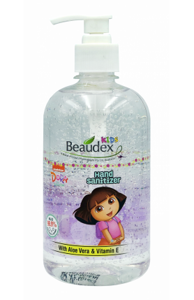 BEAUDEX KIDS DORA THE EXPLORER HAND SANITIZER 500ML