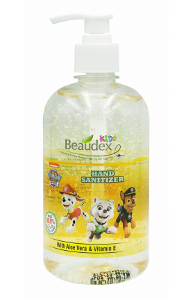 BEAUDEX KIDS PAW PETROL HAND SANITIZER 500ML