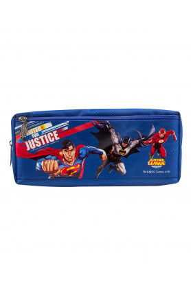 WB JUSTICE LEAGUE GROUP PENCIL BAG (056 1S)