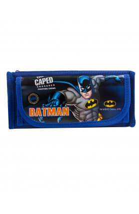 WB BATMAN PENCIL BAG (BLUE) (951 1S)
