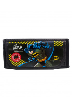 WB BATMAN PENCIL BAG (BLACK) (951 1S)