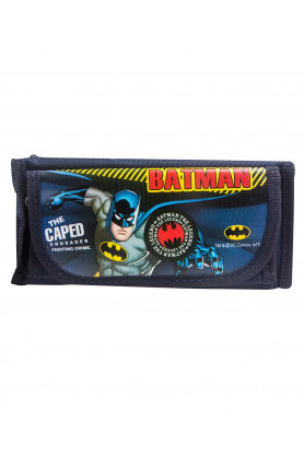 WB BATMAN PENCIL BAG (NAVY BLUE) (951 1S)