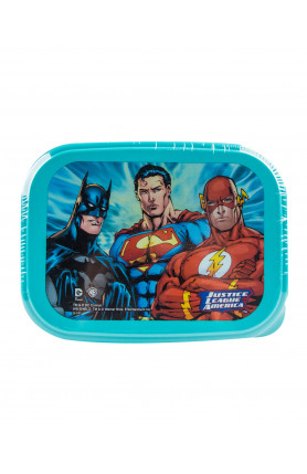 WB JUSTICE LEAGUE LUNCH BOX 750ML