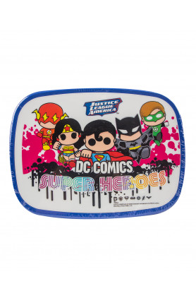 WB JUSTICE LEAGUE GROUP LUNCH BOX 850ML