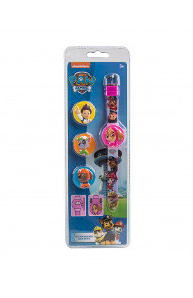 NICKELODEON PAW PATROL HEAD WATCH GIRL-SKYE