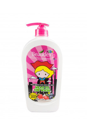 HEAD TO TOE WASH DAZZLING SUMMER BERRIES 650ML
