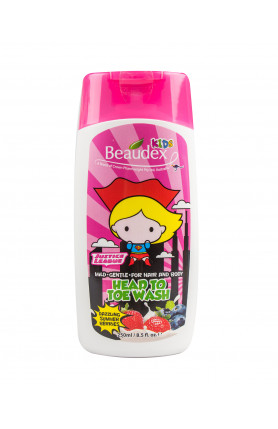 HEAD TO TOE WASH DAZZLING SUMMER BERRIES 250ML