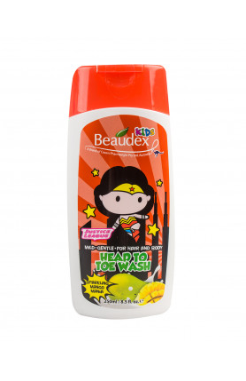 HEAD TO TOE WASH SPARKLING MANGO MANIA 250ML