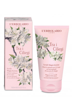 TRA I CILIEGI SCRUB BODY OIL GEL 150ML