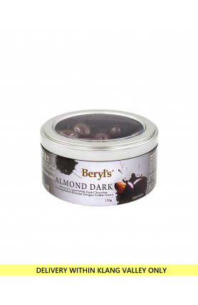 ALMOND COATED WITH DARK CHOCOLATE 120g