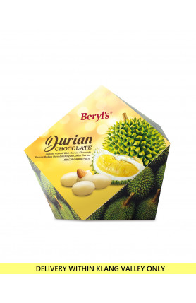 ALMOND COATED WITH DURIAN WHITE CHOCOLATE 100g