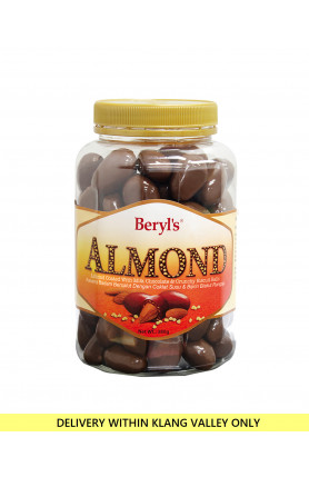 ALMOND COATED WITH MILK CHOCOLATE & MALT PUFF 380g
