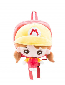 KOREA TOY BACKPACK (RED GIRL)
